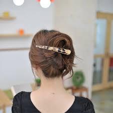 alligator hair women hair accessories rhinestone cystal leopard print