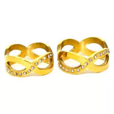 couple rings gold images Glamorosa infinity couple rings gold lazada ph webp