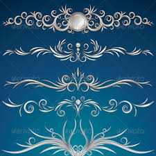 silver ornament by pilart graphicriver