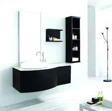 Black Painted Bathroom Cabinets Vanities Floating Vanity Unit Ikea Furniture Witching Wall