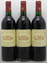 chateau margaux i will drink buy pavillon du château margaux second vin 1993 lot 12608