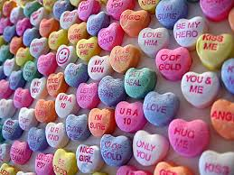 candy valentines free frugal ways to say i you on s day