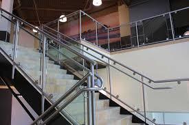 metal handrail u0026 guardrail systems made with steel u0026 glass
