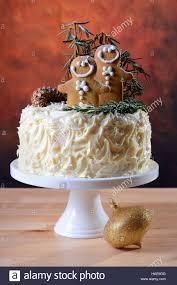 Festive holidays Christmas showstopper centerpiece white chocolate