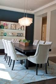 shelves for dining room black round stained wooden dining table