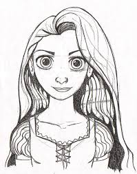 the art of brian james fichtner rapunzel coloring page