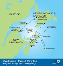 map of east canada map east coast canada travel maps and major tourist attractions maps