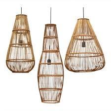 Bamboo Ceiling Light Light Ceiling Light