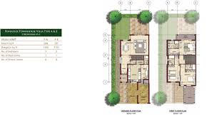 Quad Plex Plans by Bloom Gardens Phase 3 Eastern Corniche Abu Dhabi Dubai