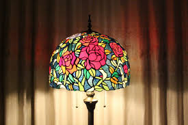 Stained Glass Floor Lamp Tiffany Stained Glass Floor Lamps Hankodirect Decoration