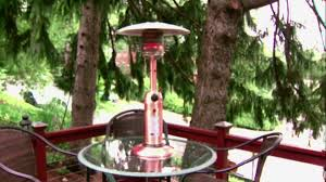 palm springs patio heater table top heater warms patio video diy