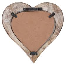 Home Decor Distributors Buy Shabby Chic Wooden Heart Shaped Photo Picture Frame In Bulk