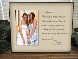 What To Get Your Sister For Her Wedding Best 25 Sister Wedding Gifts Ideas On Pinterest Wedding Gift