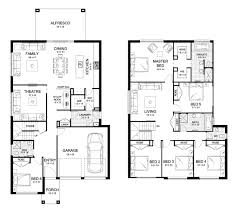 Home Floor Plan by Aria 38 Double Level Floorplan By Kurmond Homes New Home