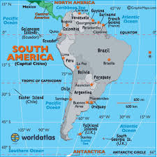 map of cities in south america south america capital cities map map of south america capital
