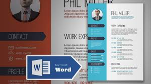 cv design how to create an simple resume in microsoft word cv
