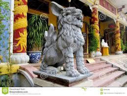 qilin statue qilin asian mythological statue stock photo image 58352090