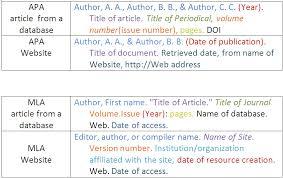 how do you write websites in apa format mediafoxstudio com