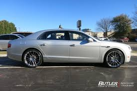 2009 bentley flying spur bentley flying spur with 22in lexani css8 wheels exclusively from