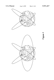 patent us5931417 non geostationary orbit satellite constellation