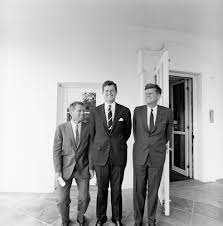 st 398 1 63 president john f kennedy with brothers robert f