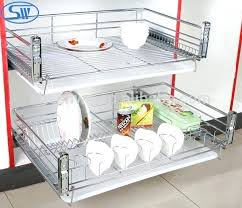 pull out racks for kitchen cabinets wire cabinet pull kitchen cabinet pull out shelves slide drawers
