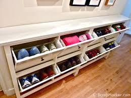 amazing hall table shoe storagetelephone storage bench oak with