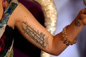 lady gaga tattoos the hollywood gossip