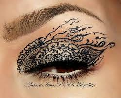henna eye makeup the 9 best images about henna make up on henna