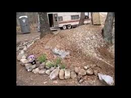 How To Build A Rock Garden Bed My Own Mulch And Rock Garden Flower Bed
