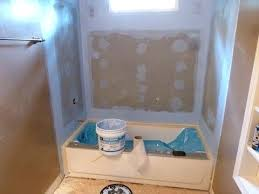 Shower Tile Installation Cost To Install Tile Shower Walls Tile Backer Board Installation