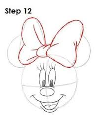 draw minnie mouse learn draw art drawing