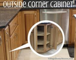 outside corner cabinet ideas including an angled kitchen cabinet like this outside corner