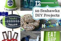 Seahawks Decorations Malia Yesterday On Tuesday Maliak On Pinterest