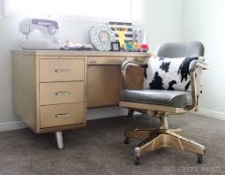 My Gold Desk The Craft Patch Vintage Tanker Desk Makeover