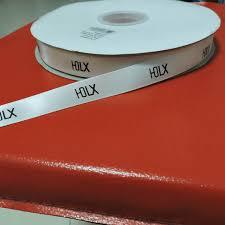 custom ribbon with logo custom gift ribbon print logo satin ribbon packaging ribbon for