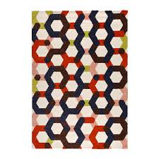 jernved 302 290 39 rug high pile multicolor ikea products