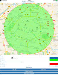 draw a radius on a map free map tools on the app store