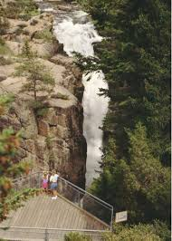 Wyoming travels images Shell falls in the big horn mountains photo credit wyoming jpg