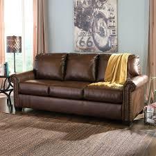 Aniline Leather Sofa Sale Aniline Leather Sofa Abbyson Living Sk Brn Houst Premium Semi
