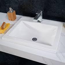 Small Rectangular Drop In Bathroom Sinks Studio Drop In Bathroom Sink American Standard