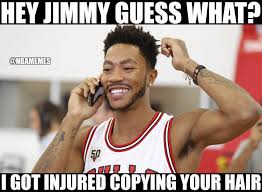 Derrick Rose Injury Meme - memes on twitter