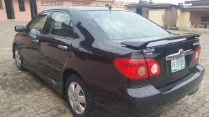 toyota corolla s 2005 for sale clean used 2005 toyota corolla sport for sale autos nigeria