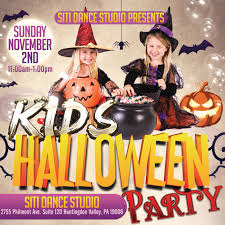 halloween party siti dance studio today dance lessons