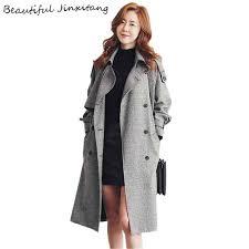 Preferidos Moda Feminina casaco Trench Coat Xadrez 2017 Nova capa de chuva  &RE86