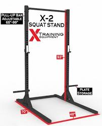 Squat Rack And Bench X 2 Elite Series Squat Stand With Pull Up Bar Stand Alone Home