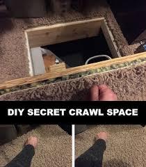secret crawl space access door homestead u0026 survival