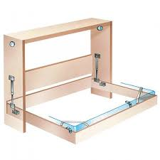 Murphy Bed Frame Kit Murphy Bed Frame In Vertical Mount Deluxe Hardware Rockler