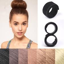 plastic hair hair bun maker updo fold wrap snap styling tool makeup stick hair