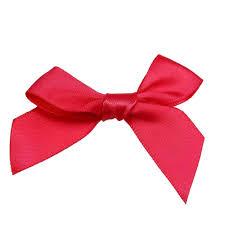 satin ribbon bows 15mm satin ribbon bows cerise 10pk